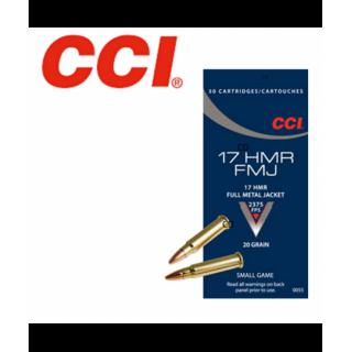 MUNITIONS CCI 17 HMR SMALL...