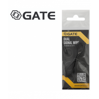 CABLE GATE DOUBLE SIGNAL 60CM