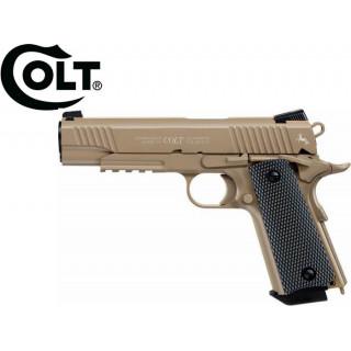 PISTOLET M45 CQBP COLT TAN