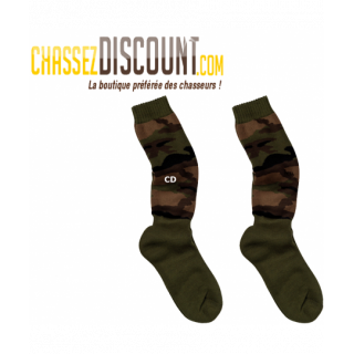 CHAUSSETTES CHASSE CAMO 4C1...