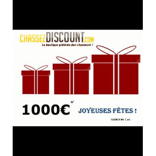 CHEQUE CADEAU 1000€...