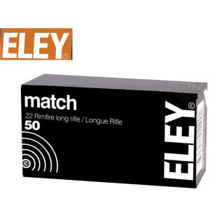 BALLES MATCH ELEY 22LR PAR 500