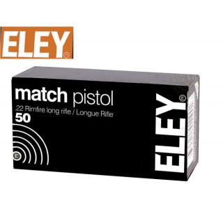 BALLES MATCH PISTOL ELEY...
