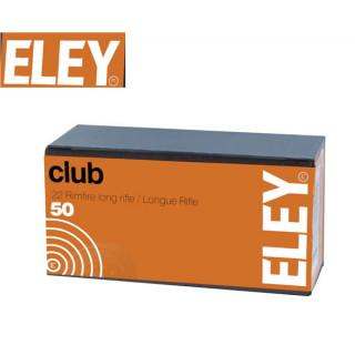 BALLES CLUB ELEY 22LR PAR 500