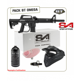 PACK PAINTBALL BT OMEGA AIR