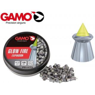 PLOMBS GLOW FIRE GAMO PAR 125