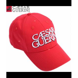 CASQUETTE ROUGE CAESAR GUERINI