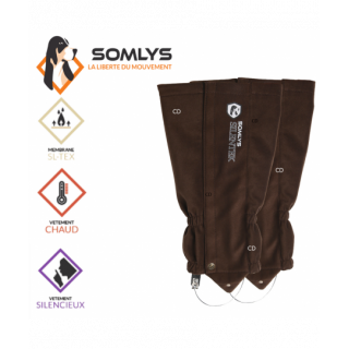 GUETRES SOMLYS SOFTSHELL...