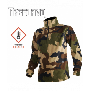 SWEAT POLAIRE TREELAND CAMO...