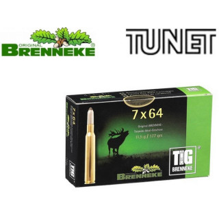 BALLES BRENNEKE TIG 7X65R...