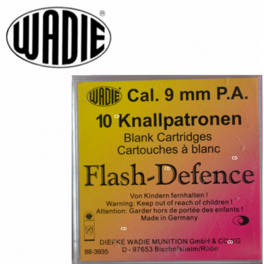 CARTOUCHES WADIE 9MM PA...
