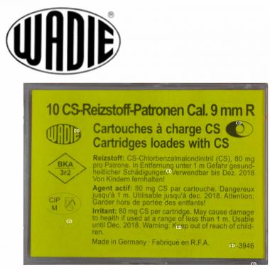 CARTOUCHES WADIE 9MM/380 CS...