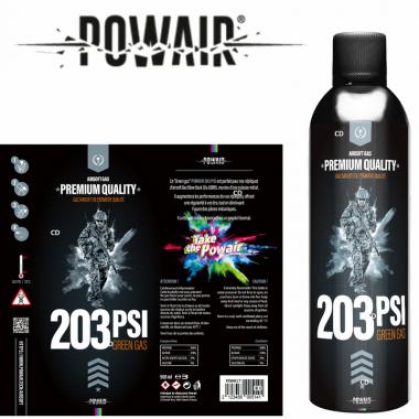 BOMBE DE GAZ POWAIR 203 PSI...
