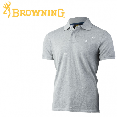 POLO BROWNING ULTRA 78 GRIS