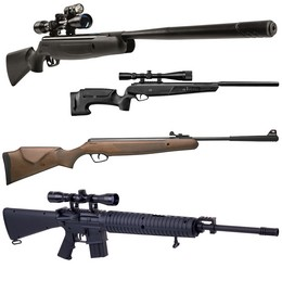 Carabines de jardin calibre 4.5mm