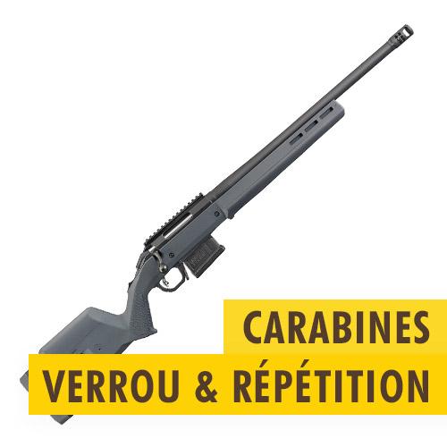 Carabines verrou/répétition
