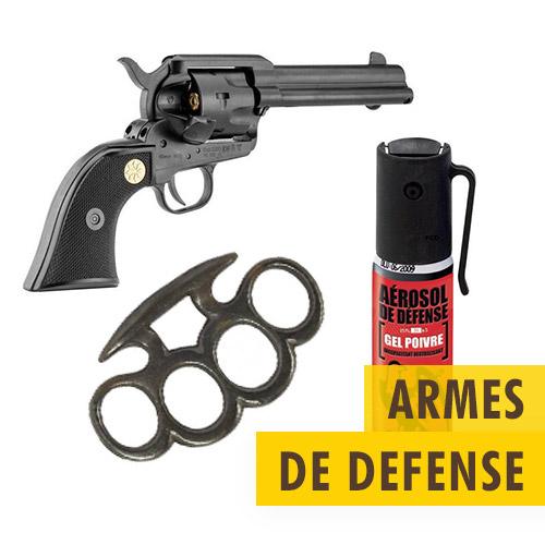 Armes de DEFENSE