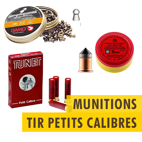 Munitions tir petits calibres
