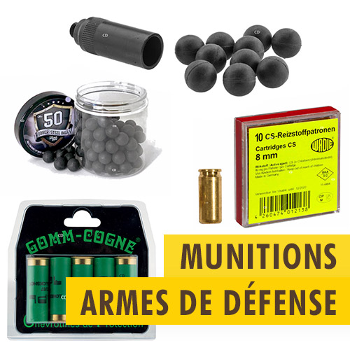 Munitions armes de défense