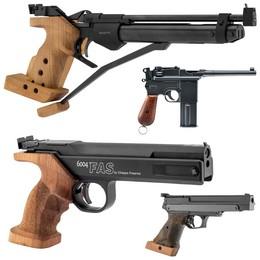 Fusils et Revolvers Air Comprimé