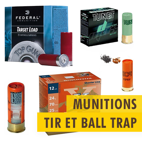 Munitions tir et Ball Trap