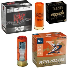 Munitions Tir et Ball Trap Calibre 12
