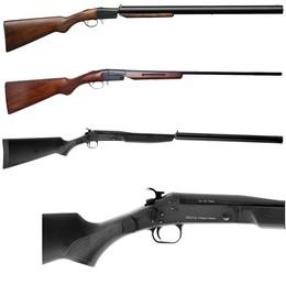 Fusils Monocanons Calibre 20 et 410