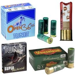 Munitions Calibre 12 Bourre Grasse