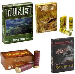Munitions Calibre 20 Bourre Jupe