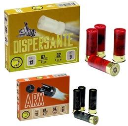 Munitions Calibre 20 Croisillon, ARX et dispersantes