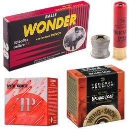 Munitions de tir Calibre 28