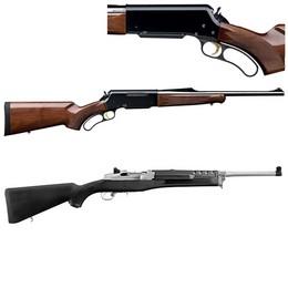 Carabines à Répétition à levier de sous garde