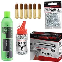 Munitions CO2