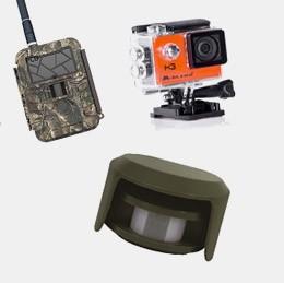 Caméras de surveillance et Pièges photos