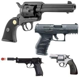 Pistolet à blanc