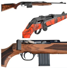 Carabines à réarmement Linéaire
