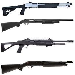 Fusils Semi automatiques à pompe
