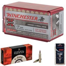 Munitions de tir Calibre 17HMR