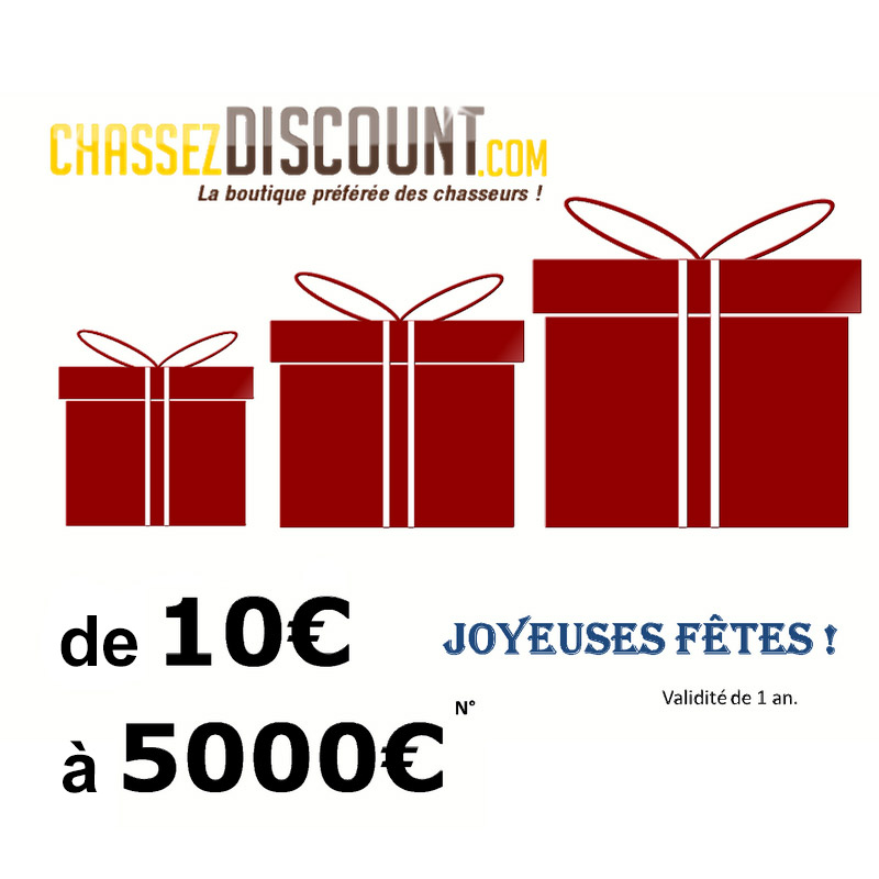 CHEQUES CADEAUX CHASSE