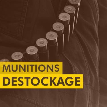 Déstockage Munitions